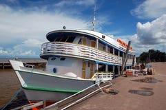 亚马逊典型gaiola的船 免版税库存照片