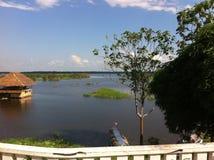 亚马逊在伊基托斯(秘鲁) 免版税库存照片