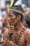 从亚马逊地区的土产人 图库摄影