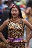 从亚马逊地区的土产妇女 库存照片