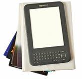 亚马逊数字式ebook点燃阅读程序 库存图片