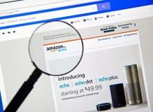 亚马逊最初加拿大introductional电子邮件 免版税库存照片