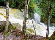 亚马逊瀑布 免版税库存图片