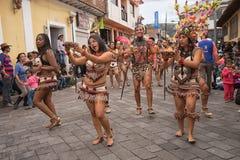 从亚马逊的土产舞蹈家 库存照片