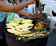 亚马逊街道食物 免版税图库摄影