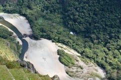 亚马逊马丘比丘,秘鲁嘴  免版税图库摄影