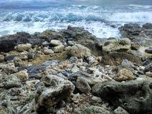 亚齐海滩 库存照片