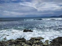 亚齐海滩 免版税图库摄影