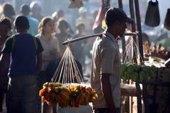 亚洲东帝汶东帝汶帝力市场果子 免版税库存图片