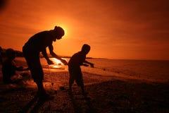 亚洲东帝汶东帝汶帝力海滩渔 免版税库存图片
