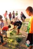 亚洲东帝汶东帝汶帝力海滩渔 库存图片
