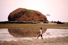 亚洲东帝汶东帝汶帝力海滩 库存照片