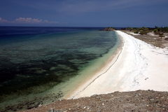 亚洲东帝汶东帝汶帝力美元海滩 免版税图库摄影