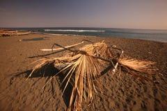 亚洲东帝汶东帝汶BETANO海滩 免版税库存照片