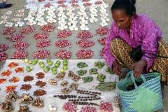 亚洲东帝汶东帝汶LOSPALOS市场 图库摄影