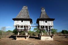 亚洲东帝汶东帝汶LOSPALOS房子 库存照片