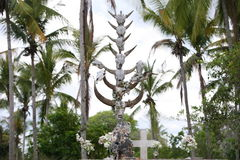 亚洲东帝汶东帝汶RACA坟园 免版税库存图片
