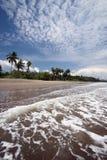 亚洲东帝汶东帝汶UAITAME海滩 免版税库存图片