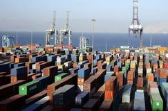亚洲中东约旦亚喀巴 免版税库存照片