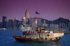 亚洲中国香港 库存照片
