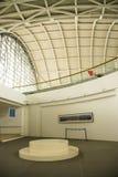 亚洲中国,北京,民航博物馆,室内展览室 免版税库存照片