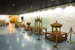 亚洲中国,北京,计划的展览室,室内展览室 库存图片