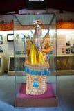 亚洲中国,北京,轩南文化博物馆,室内陈列hallï ¼ ŒOpera服装 免版税库存图片