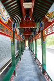 亚洲中国,北京,陶然亭公园,长的Corridorï ¼ Œ 免版税库存照片