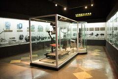 亚洲人中国,北京,中国全国影片Museumï ¼ ŒIndoor展览室, 免版税库存照片