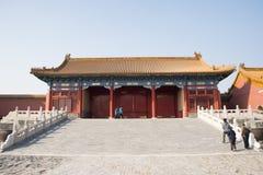 亚洲人中国,北京,历史建筑,故宫 图库摄影