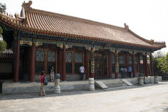 亚洲人中国,北京,颐和园, dian Pai的yun 免版税库存图片