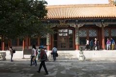 亚洲人中国,北京,颐和园, dian Pai的yun 库存图片