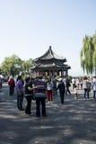 亚洲人中国,北京,颐和园, Kuo Ru铃声 库存图片