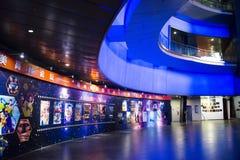 亚洲人中国,北京, (中国全国影片博物馆) 免版税库存图片