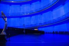 亚洲人中国,北京, (中国全国影片博物馆) 免版税库存照片