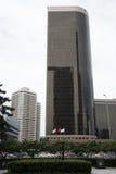 亚洲人中国,北京, CBD中心商务区,现代建筑学,许多传说上有名大厦 免版税库存照片