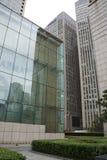 亚洲人中国,北京, CBD中心商务区,现代建筑学,许多传说上有名大厦 免版税图库摄影