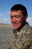 亚洲人的一个年轻人 免版税库存图片