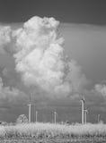 亚洲贝加尔湖覆盖海岛湖olkhon俄国雷暴视图 免版税库存照片