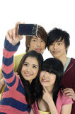 亚洲十几岁 免版税库存照片
