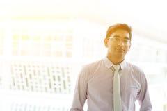 亚洲印地安商人 免版税库存图片
