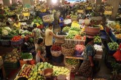 亚洲印度尼西亚巴厘岛登巴萨市场PASAR BADUNG 免版税图库摄影