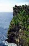 亚洲印度尼西亚巴厘岛ULU WATU寺庙 免版税库存图片
