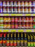 亚洲和中国食物调味汁 库存图片