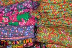 亚洲织品 库存图片