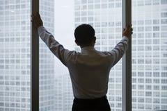 亚洲商业主管 免版税库存图片