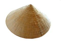 亚洲圆锥形帽子 免版税库存图片