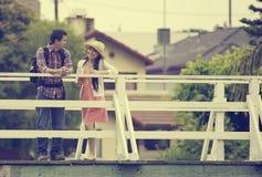 年轻亚洲夫妇 免版税库存图片