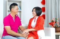 亚洲夫妇 库存图片
