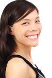 亚洲女孩微笑 免版税库存照片
